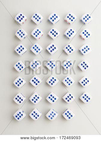 Corner Six Cross Pattern
