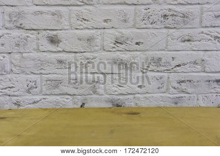 Background with the image of brick wall