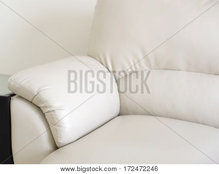 The image of a light sofa