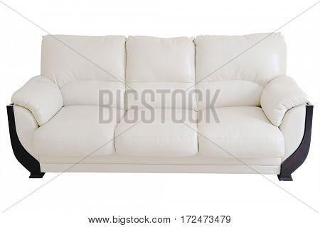 The image of a light sofa