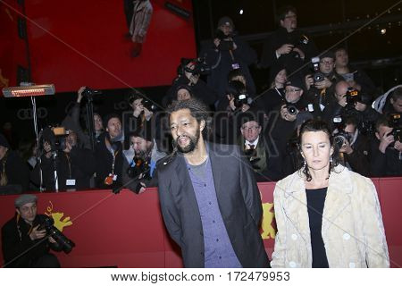 BERLIN, GERMANY - FEBRUARY 18: Film director Alain Gomis arrives for the closing ceremony of the 67th Berlinale Film Festival Berlin at Berlinale Palace on February 18, 2017 in Berlin, Germany.