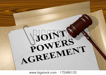 Joint Powers Agreement - Legal Concept