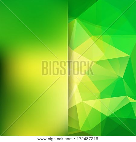 Background Of Geometric Shapes. Blur Background With Glass. Mosaic Pattern. Vector Eps 10. Vector Il