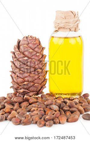 cedar oil and nuts