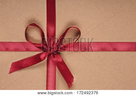 Beautiful Gift Box With Ribbon And Bow