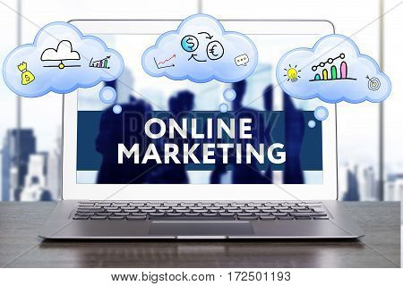 Marketing Strategy. Planning Strategy Concept. Business, Technology, Internet And Networking Concept