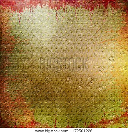 Abstract Multicolored Painted Background