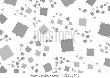 Abstract Background With Flat Blocks. Pattern For Surface Concept.