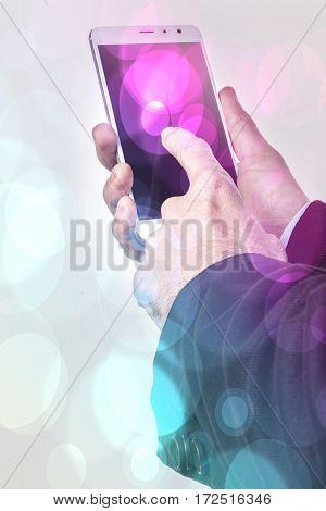 Smartphone And Bokeh