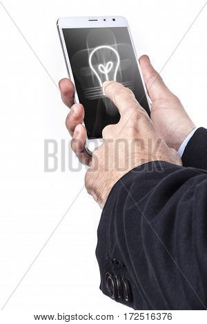 Smartphone And Bulb