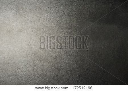 Blackboard texture. Empty chalkboard with lighting from left