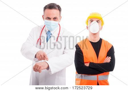 Doctor Showing Time And Constructor Ignoring It