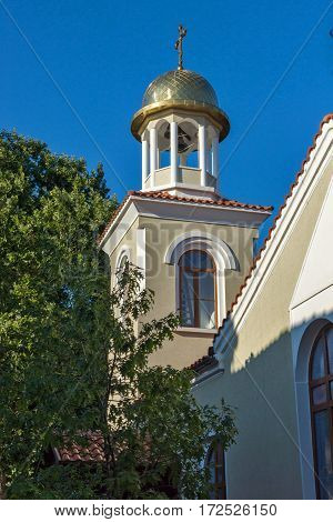 Bell tower of the church of St. George, Burgas Region, Bulgaria