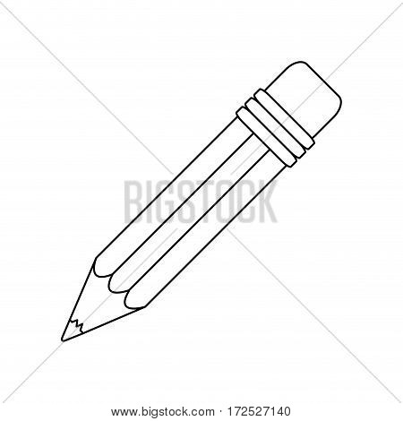 conotur pencil icon stock image, vector illustration design
