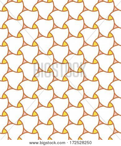 Seamless vector ornament. Modern background. Geometric pattern with repeating elements