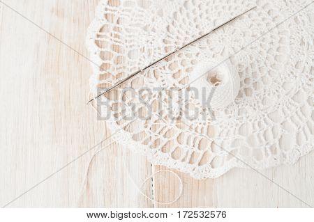 Crafts, Crochet, Crochet Doily