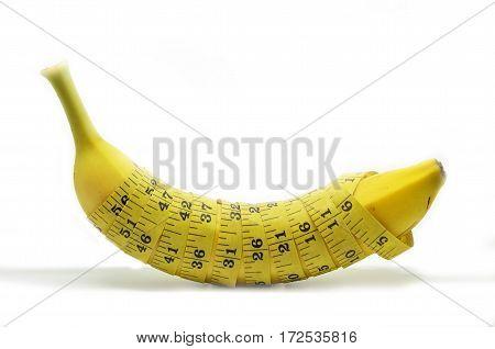 Banana With Tape Measure