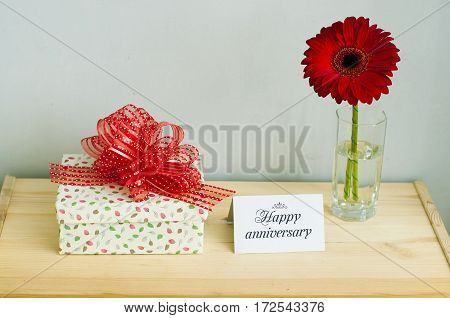Gift, Greeting Card And Flower