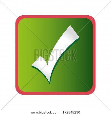 ok symbol isolated icon vector illustration design