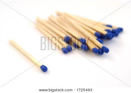 Matches Blue 03