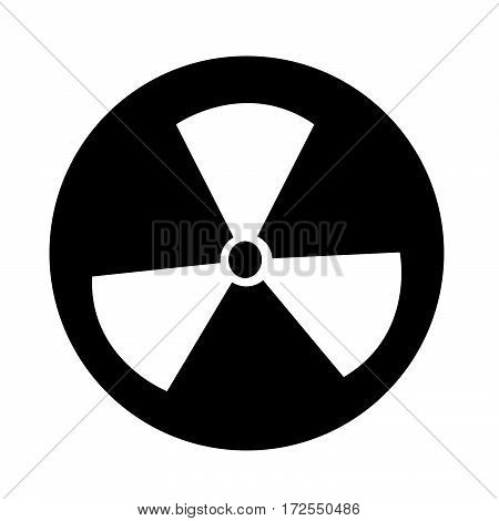 an images of Or pictogram Radioactivity sign icon