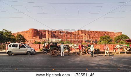 Agra Fort In Jaipur, India