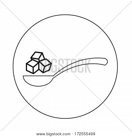an images of Or pictogram sugar icon