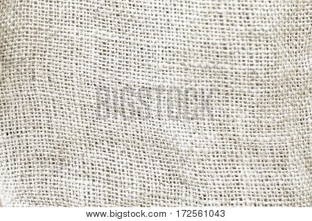 Natural grey sackcloth canvas textured for background.
