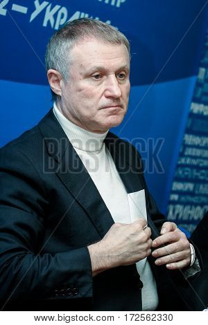 President Of The Football Federation Of Ukraine Grigory Surkis