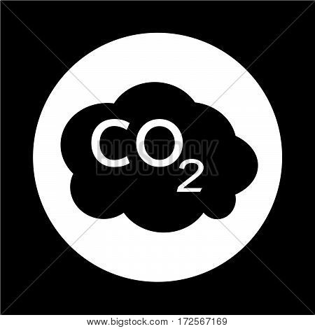 an images of Or pictogram CO2 icon