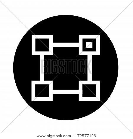 an images of Or pictogram Org Unit vector icon
