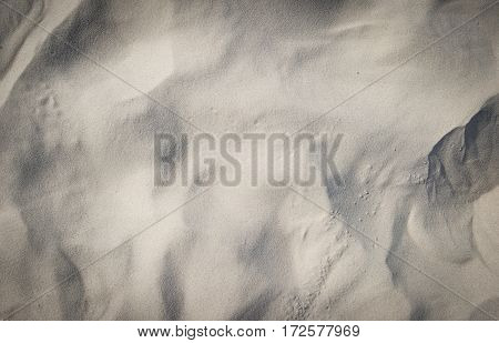 close up of beach sand texture background