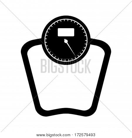 scale balance lifestyle icon vector illustration design