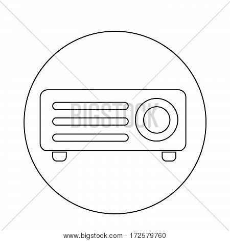 an images of Or pictogram Video Projector icon