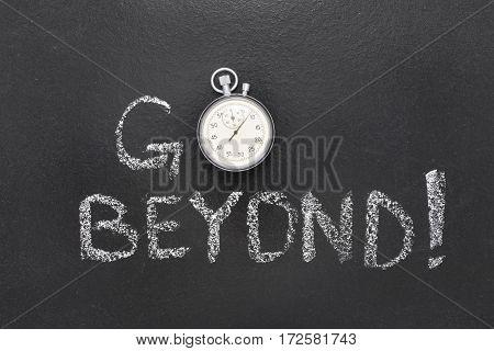 Go Beyond Watch