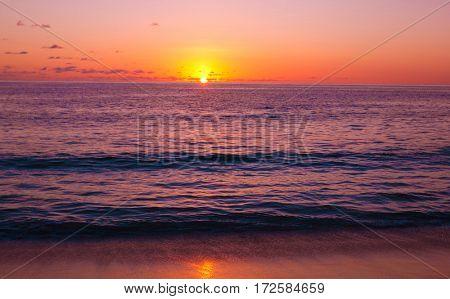 Seascape Skyline Sea