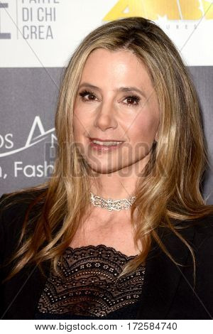 LOS ANGELES - FEB 19:  Mira Sorvino at the Los Angeles Italia Film Festival at the TCL Chinese 6 Theaters on February 19, 2017 in Los Angeles, CA
