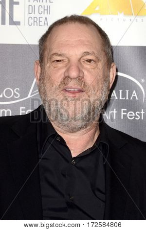 LOS ANGELES - FEB 19:  Harvey Weinstein at the Los Angeles Italia Film Festival at the TCL Chinese 6 Theaters on February 19, 2017 in Los Angeles, CA
