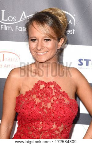 LOS ANGELES - FEB 19:  Maria Elena Infantino at the Los Angeles Italia Film Festival at the TCL Chinese 6 Theaters on February 19, 2017 in Los Angeles, CA