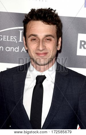 LOS ANGELES - FEB 19:  Justin Hurwitz at the Los Angeles Italia Film Festival at the TCL Chinese 6 Theaters on February 19, 2017 in Los Angeles, CA