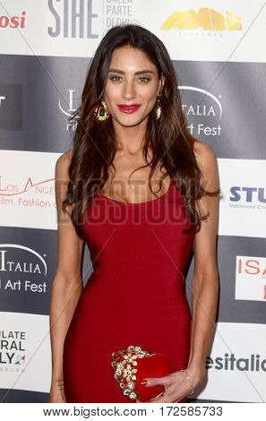 LOS ANGELES - FEB 19:  Julia Lupetti at the Los Angeles Italia Film Festival at the TCL Chinese 6 Theaters on February 19, 2017 in Los Angeles, CA