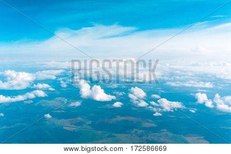 Shining Sunlight Cloudscape Divine