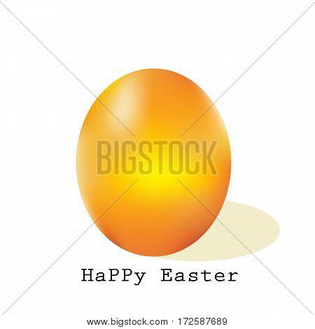 Easter egg vector illustration flower celebration symbol