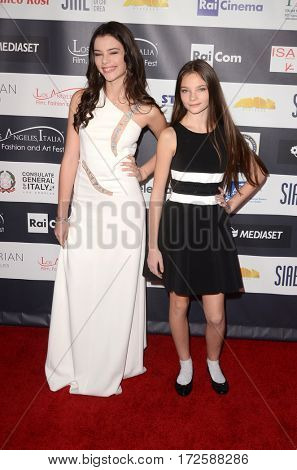 LOS ANGELES - FEB 19:  Eleonora Gaggero, Veronica Gaggerio at the Los Angeles Italia Film Festival at the TCL Chinese 6 Theaters on February 19, 2017 in Los Angeles, CA