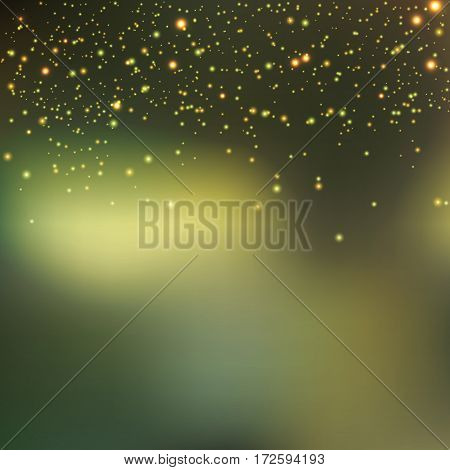 Abstract colorful bokeh background. Vector illustration eps 10