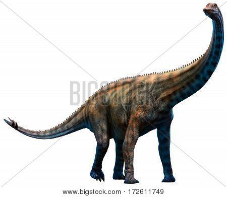 Spinophorosaurus dinosaur from the Jurassic era 3D illustration