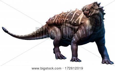 Talarurus dinosaur from the Cretaceous era 3D illustration