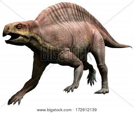 lotosaurus dinosaur from the Triassic era 3D illustration