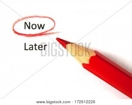 Now checked not later by red pelcil