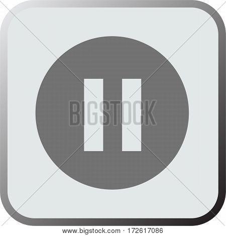 Pause icon. Pause icon art. Pause icon eps. Pause icon Image. Pause icon logo. Pause icon sign. Pause icon flat. Pause icon design. Pause icon vector.